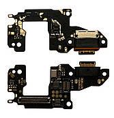 Нижня плата Huawei P30 (2019) з конектором зарядки + мікрофон + компоненти