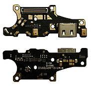Нижня плата Huawei Mate 10 ALP L09 з конектором зарядки + мікрофон + компоненти