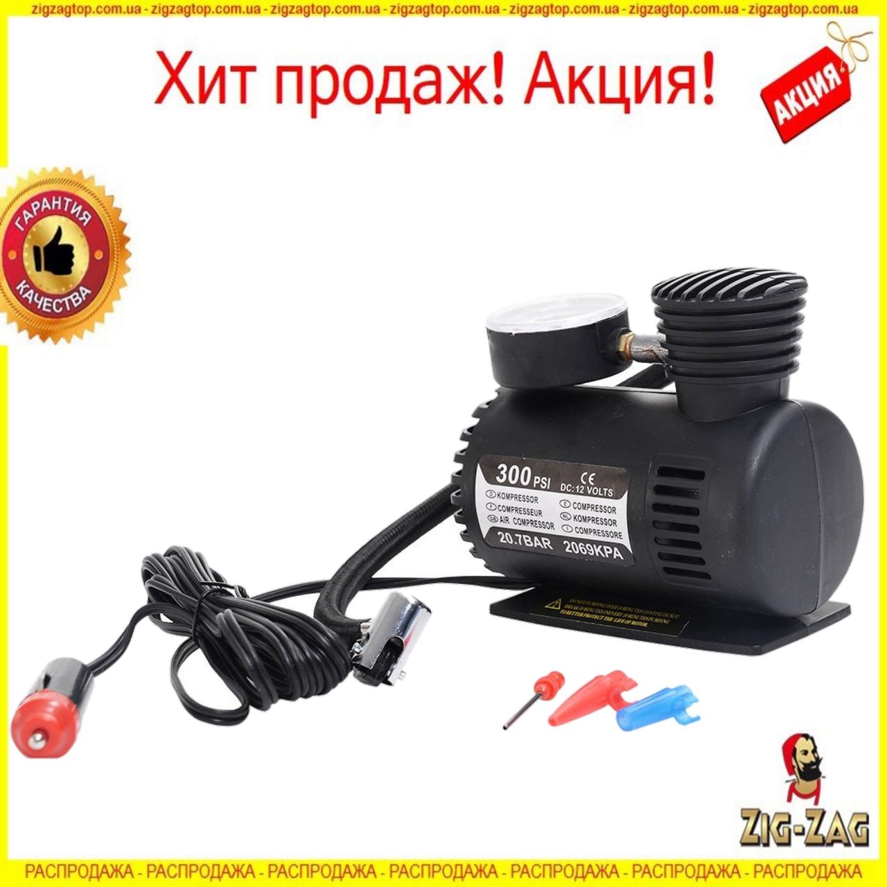 Автомобильный КОМПРЕССОР Air Compressor MJ004 Авто Насос для шин Колес мячей 12V компресор 100% КАЧЕСТВО!