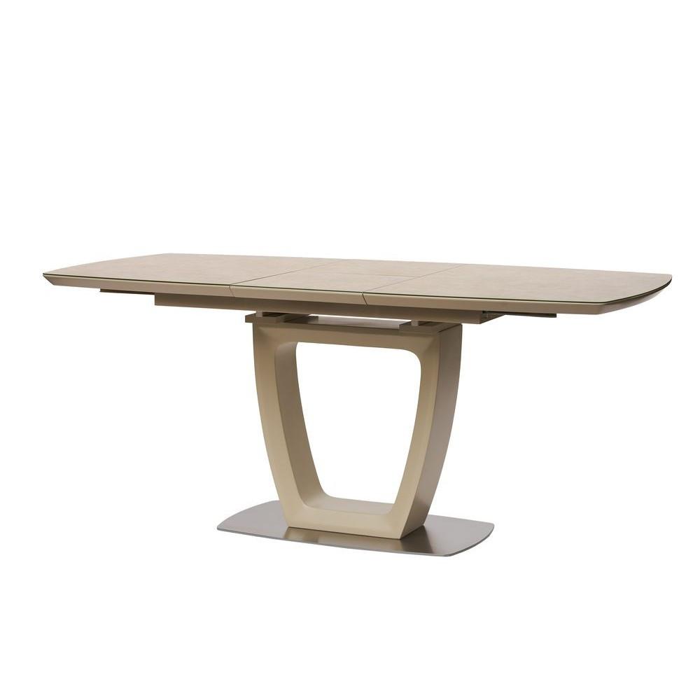 Обеденный стол RAVENNA SAND (Равенна Сенд) бежевый под гранит 120/160 от Concepto