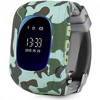 Годинник Smart Watch Q50 blue military
