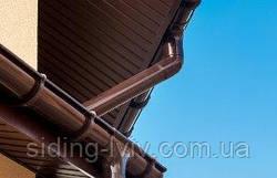 Софіти для підшивки даху фронтонів , підшивка карнизів потолка Бриза , Аско купити у Львові