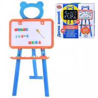 Детская доска мольберт двухсторонняя Play Smart 0703 (магн./рисов.)