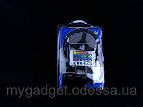 Светодиодная лента LED 1077-1 RGB с пультом и блоком питания 5 м