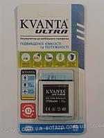 Аккумуляторная  батарея KVANTA к мобильному телефону  HTC Desire X 1700mAh