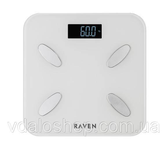 Ваги електронні підлогові RAVEN EW009BT Smart BT НОВІ ГАРАНТІЯ