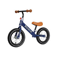 Беговел для дітей Baishs HS-132 Blue двоколісний з обертанням керма 360° без педалей