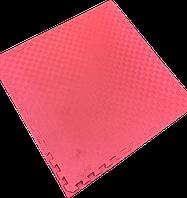 Татамі IZOLON EVA SPORT 100х100х4см, УЦІНКА червоно-синій з бортиком, фото 1