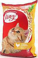Корм МЯУ! Хрустящая Курочка для кошек, 11 кг 48201