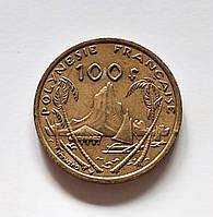 100 франков Французская Полинезия 2006 г., фото 1