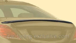 MANSORY rear deck lid spoiler for Mercedes S-class