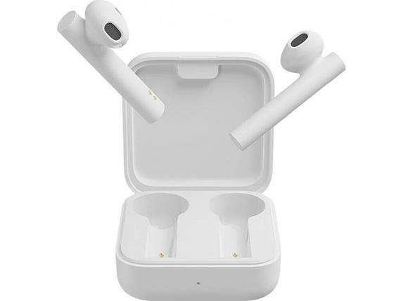 Навушники бездротові Xiaomi Mi True Wireless Earphones 2 Basic White, фото 2