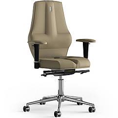 Кресло KULIK SYSTEM NANO Экокожа без подголовника без строчки Песочный 16-909-BS-MC-0212 ZZ, КОД: 1668854