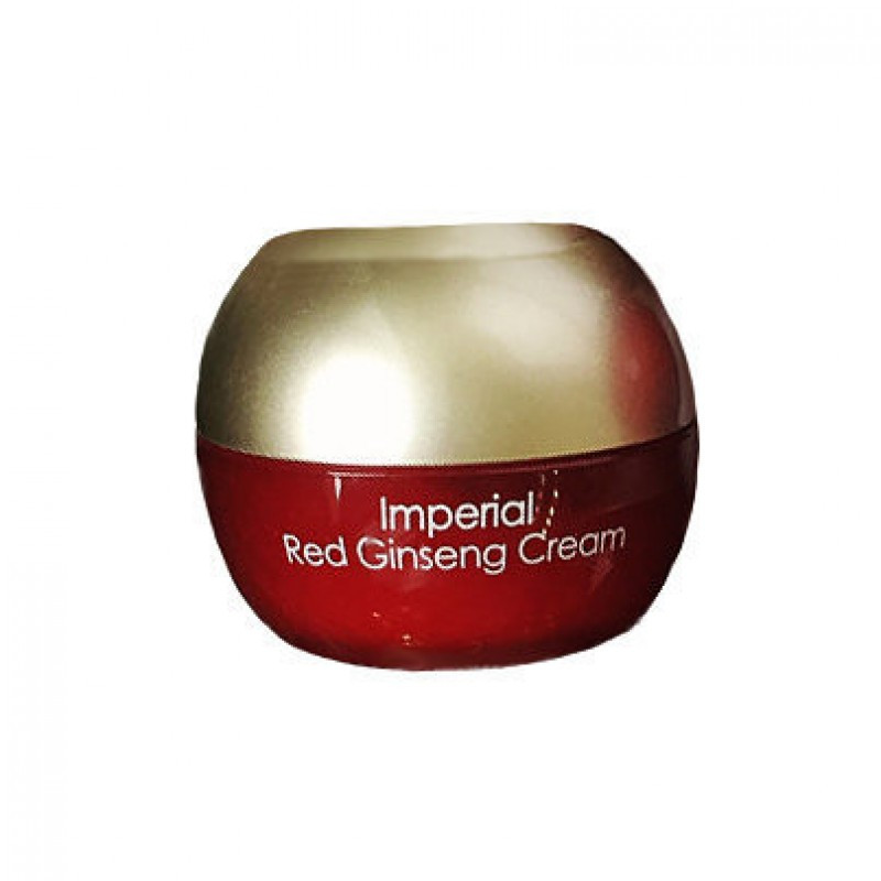 Омолаживающий крем с женьшенем и муцином улитки Ottie Imperial Red Ginseng Cream 10 мл