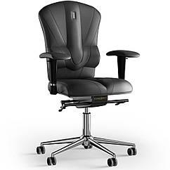 Кресло KULIK SYSTEM VICTORY Кожа без подголовника без строчки Черный 8-909-BS-MC-0101 ZZ, КОД: 1669024