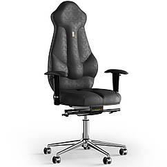 Кресло KULIK SYSTEM IMPERIAL Антара с подголовником без строчки Черный 7-901-BS-MC-0301 ZZ, КОД: 1685888