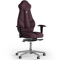 Кресло KULIK SYSTEM IMPERIAL Ткань с подголовником со строчкой Фиолетовый 7-901-WS-MC-0509 ZZ, КОД: 1685950