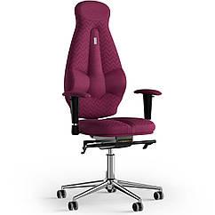 Кресло KULIK SYSTEM GALAXY Ткань с подголовником со строчкой Розовый 11-901-WS-MC-0508 ZZ, КОД: 1689578