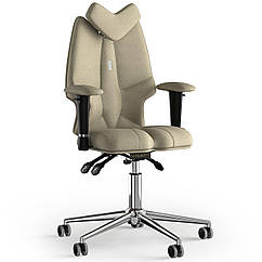 Кресло KULIK SYSTEM FLY Ткань с подголовником без строчки Кремовый 13-901-BS-MC-0501 ZZ, КОД: 1689609