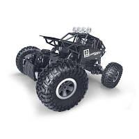 Радиоуправляемая игрушка Sulong Toys OFF-ROAD CRAWLER на р/у MAX SPEED матовый черный 1:18 (SL-112MBl)