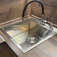 Кухонная мойка Platinum Handmade 5050 HD-D001 квадратная