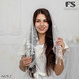 Современный Свадебный платок София