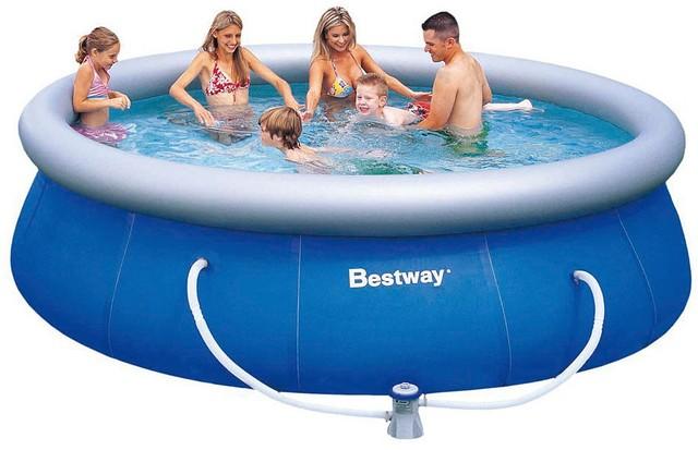 Надувной бассейн BestWay 57321 (396х84 см)