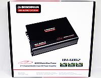 Усилитель звука 4000W Бошман 2-х канальный автоусилитель в машину автомобильный BM Boschmann двухканальный