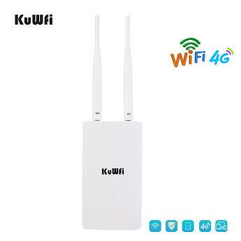 Вуличний 4G LTE роутер KuWFi до 150 Мбіт/с