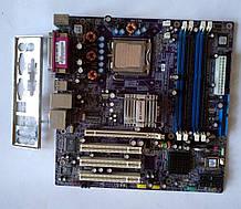 928 Elitegroup ECS 915-M5 Rev. 1.1 Socket Intel 775 DDR1 PCI-Express + Int. video - материнская плата