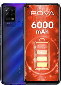 Смартфон Tecno Pova (LD7) 6/128Gb Magic Blue Гарантія 13 міс.