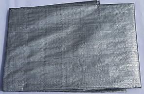 "Тент ""Серый"" 4х6м, плотность 150 г/м2, фото 2"