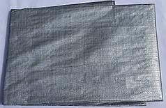 "Тент ""Серый"" 6х8м, плотность 150 г/м2"