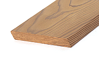 Планкен скошенный косой из термососны 18х100х900мм-3000мм