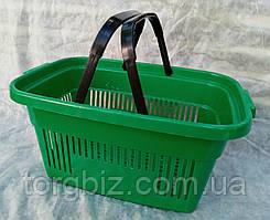 Кошик для магазинів зелена та ін кольору