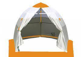 Палатка ЛОТОС 2 оранжевая