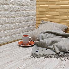 Lb  Мягкий пол пазл EVA модульное напольное покрытие ЭВА влагостойкая панель-коврик 60х60х1 см белое дерево