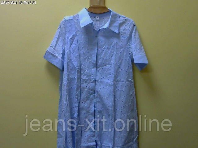 Платье женское M(р) голубое 8994 КНР Лето-D