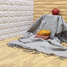 Lb  Мягкий пол пазл EVA модульное напольное покрытие ЭВА влагостойкая панель-коврик 60х60х1 см янтарное дерево