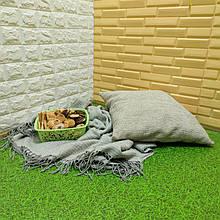 Lb  Мягкий пол пазл EVA модульное напольное покрытие ЭВА влагостойкая панель-коврик 60х60х1 см зеленая трава