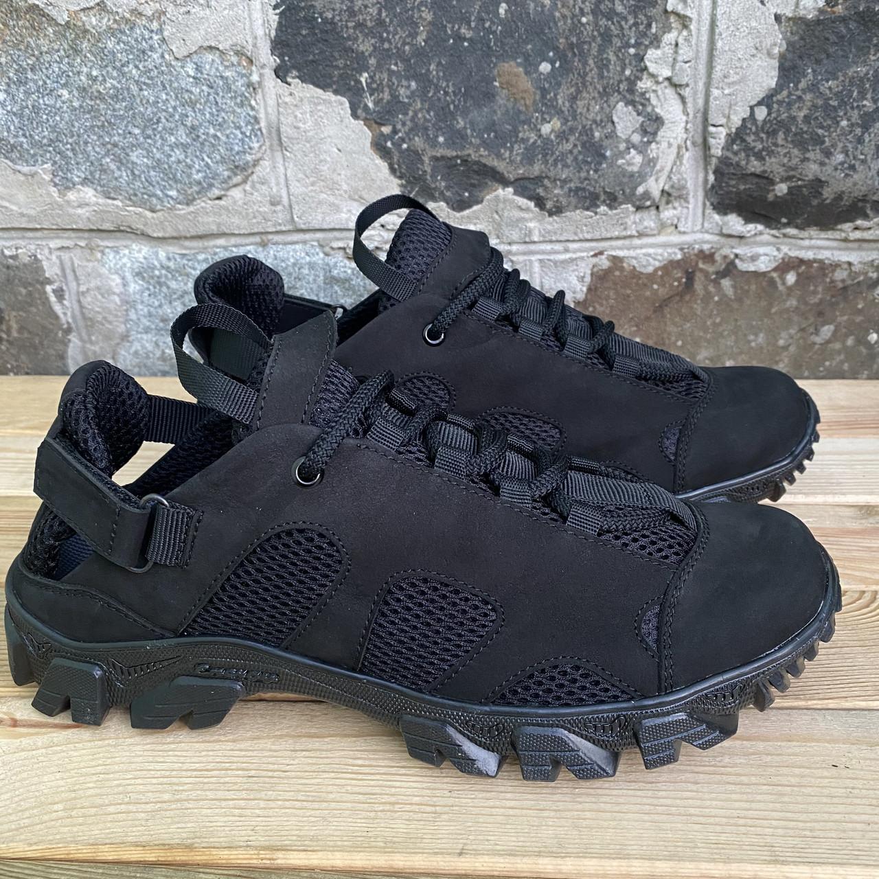 Тактичні сандалі колір чорний полегшені З - 12 чорний