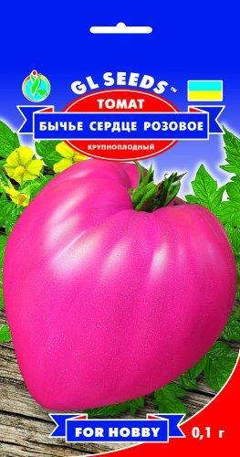 Томат Бычье сердце розовый, пакет 0.1 г - Семена томатов