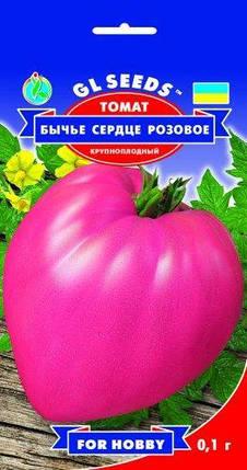 Томат Бычье сердце розовый, пакет 0.1 г - Семена томатов, фото 2
