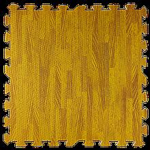 Lb  Мат татами пазл ЭВА модульное покрытие на пол EVA ласточкин хвост складной коврик 60х60х1 см янтарное