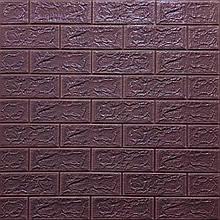 Lb Модульная 3D панель гибкая на клейкой основе декоративная 3 д самоклейка на стену под кирпич цвета
