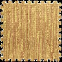 Lb  Мат татами пазл ЭВА модульное покрытие на пол EVA ласточкин хвост складной коврик 60х60х1 см золотое