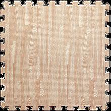 Lb  Мат татами пазл ЭВА модульное покрытие на пол EVA ласточкин хвост складной коврик 60х60х1 см розовое