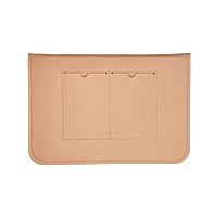 """Повстяний чохол конверт ZAMAX для MacBook Air і Pro 13.3"""" сумка папка з повсті на Макбук бежевий, фото 4"""