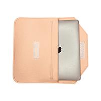 """Повстяний чохол конверт ZAMAX для MacBook Air і Pro 13.3"""" сумка папка з повсті на Макбук бежевий, фото 2"""