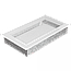 Вентиляционная решетка для камина KRATKI 17х30 белая, фото 2